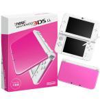 ショッピング本体 『中古即納』{本体}{3DS}Newニンテンドー3DS LL ピンク×ホワイト(RED-S-PAAA)(20160609)