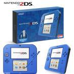 ショッピング本体 『中古即納』{本体}{3DS}ニンテンドー2DS ブルー(FTR-S-BCAA)(20160915)