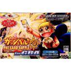 『中古即納』{箱説明書なし}{GBA}金色のガッシュベル!! THE CARD BATTLE for GBA(ザ・カードバトル フォー ゲームボーイアドバンス)(20050728)