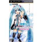 『中古即納』{PSP}初音ミク -Project DIVA- extend(プロジェクト ディーヴァ エクステンド)(20111110)