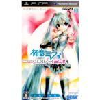 『中古即納』{PSP}初音ミク -Project DIVA- 2nd(プロジェクト ディーヴァ セカンド) お買い得版(ULJM-05952)(20111215)