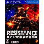 『中古即納』{PSVita}RESISTANCE(レジスタンス) アメリカ最後の抵抗(20120712)
