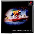 『中古即納』{表紙説明書なし}{PS}SIMPLE1500シリーズ Vol.87 THE 競艇(20020228)
