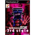 『中古即納』{表紙説明書なし}{PS2}beatmania IIDX 3rd style(ビートマニア2DX 3rdスタイル)(20001102)
