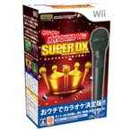 『中古即納』{Wii}カラオケJOYSOUND Wii SUPER DX ひとりでみんなで歌い放題! マイクDXセット(限定版)(20101209)