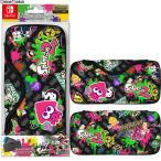 『予約前日出荷』{ACC}{Switch}QUICK POUCH COLLECTION for Nintendo Switch Splatoon2 Type-B(スイッチ クイックポーチ スプラトゥーン2) キーズファクトリー