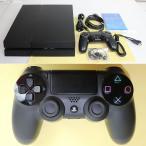 『中古即納』{訳あり}{本体}{PS4}プレイステーション4 PlayStation4 HDD500GB ジェット・ブラック(CUH-1200AB01)(20150627)