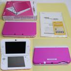『中古即納』{訳あり}{本体}{3DS}Newニンテンドー3DS LL ピンク×ホワイト(RED-S-PAAA)(20160609)