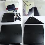 『中古即納』{訳あり}{本体}{PS3}プレイステーション3 PlayStation3 HDD160GB チャコール・ブラック(CECH-3000A)(20110709)