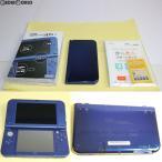 『中古即納』{訳あり}{本体}{3DS}Newニンテンドー3DS LL メタリックブルー(RED-S-BAAA)(20141011)