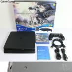 『中古即納』{訳あり}{本体}{PS4}プレイステーション4 PlayStation4 MONSTER HUNTER: WORLD(モンスターハンター:ワールド) Starter Pack Black(CUHJ-10022)