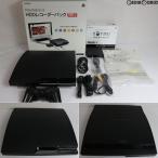 『中古即納』{訳あり}{本体}{PS3}PlayStation3 HDDレコーダーパック 320GB チャコール・ブラック(CEJH-10013)(20101118)