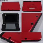 『中古即納』{訳あり}{本体}{3DS}ニンテンドー3DS LL レッド×ブラック(SPR-S-RKAA)(20120728)