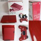 『中古即納』{訳あり}{本体}{PS3}プレイステーション3 PlayStation3 HDD250GB ガーネット・レッド(CECH-4000BGA)(20130228)