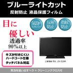 三菱電機 REAL LCD-32LB6H ブルーライトカット 反射防止 指紋防止 気泡レス 液晶保護フィルム
