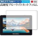 Feelworld F6 PLUS 専用 強化ガラス と 同等の 高硬度9H ブルーライトカット クリア光沢 液晶保護フィルム