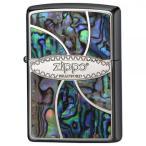 ZIPPO(ジッポー)ライター シェルメタルロゴ メタル貝貼り 2M-ZSHELL 代引き不可/同梱不可