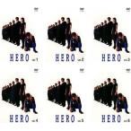 HERO 全6枚 001〜011 最終話 レンタル落ち 全巻セット 中古 DVD  テレビドラマ