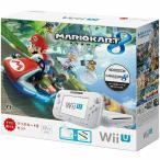 『中古即納』{本体}{WiiU}Wii U すぐに遊べる マリオカート8 セット シロ(WUP-S-WAGH)(20141113)