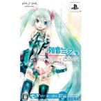 『中古即納』{PSP}初音ミク -Project DIVA-(プロジェクト ディーヴァ) でっかいお買い得版(限定版)(HSN-0017)(20100624)