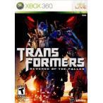 『中古即納』{Xbox360}Transformers: Revenge of the Fallen(トランスフォーマー/リベンジ)(北米版)(20090623)