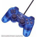 『中古即納』{ACC}{PS2}アナログコントローラ DUALSHOCK2(デュアルショック2)  オーシャン・ブルー SCE(SCPH-10010L)(20020718)