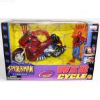 『中古即納』{FIG}WEB CYCLE(ウェブサイクル) スパイダーマン フィギュア(47616) やまと/ToyBiz(トイビズ)(19961231)
