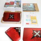 『中古即納』{訳あり}{本体}{3DS}Newニンテンドー3DS LL モンスターハンタークロス スペシャルパック(RED-S-RCCB)(20151128)