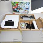 『中古即納』{訳あり}{本体}{WiiU}Wii U すぐに遊べる マリオカート8 セット シロ/shiro/白(WUP-S-WAGH)(20141113)