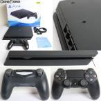 『中古即納』{訳あり}{本体}{PS4}プレイステーション4 PlayStation4 ジェット・ブラック 500GB(CUH-2100AB01)(20170724)
