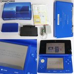 『中古即納』{訳あり}{本体}{3DS}ニンテンドー3DS コバルトブルー(CTR-S-BBAA)(20120322)