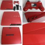 『中古即納』{訳あり}{本体}{PS3}プレイステーション3 PlayStation3 HDD320GB スカーレット・レッド(CECH-3000BSR)(20111117)