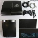 『中古即納』{訳あり}{本体}{PS3}FINAL FANTASY VII ADVENT CHILDREN COMPLETE PlayStation3 Cloud Black HDD 160GB特別仕様+FF XIII Trial Version Set