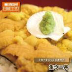 海鮮丼 うに丼 手軽で簡単&豪華 生ウニ丼 1パック 雲丹丼 海胆丼