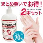 [在庫あり] [度数確認済] アルコール 70% 消毒液 ジェル 消毒 除菌 ハンドジェル ウイルス エタノール 対策 手 指 消毒用 洗浄 2本セット 送料無料