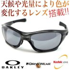 OAKLEY PIT BULL(ASIAN FIT) Gray Smoke/Slate Iridium   & 超高性能多機能 調光偏光レンズ DRIVE WEAR ドライブ ウエア