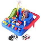 Sanwer ミニ車アドベンチャー ベビー 子供 おもちゃ 育児 知育玩具 学習玩具 交通 知育 面白い 幼児 プレゼント