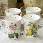 ルドゥーテ マグカップ  日本製 バラ 薔薇 ローズ Pierre-Joseph Redoute イギリス雑貨 結婚祝い お返し