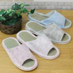 [OUTLET品][難あり] WashBorder Print TATAMI slipper (外縫いタイプ) (畳スリッパ約25cm) [スリッパ 春夏もの]