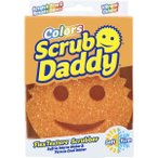 スクラブダディ オレンジ入荷しました!【メディアで大人気!アメリカで大人気のスポンジ「Scrub Daddy」が日本上陸!水の温度によって変化する】