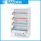 サンデン 冷蔵ショーケース オープンタイプ RSG-H900FXB 【HOT&COLDタイプ インバータ&LED搭載】 メーカー直送/代引不可
