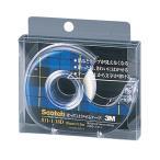 スコッチ[R] はってはがせるテープ  (小巻)テープカッター付き 巻芯径25mm  811−1−18D