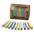 ポイントメモ[TM]ビジネスパック  ふせんタイプ  FB−5KP パステルライン(黄、桃各12個、青、緑各8個)  パステルライン