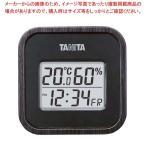 タニタ デジタル温湿度計 TT-571-BK ブラック温度計