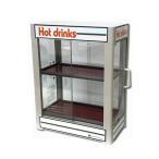 【即納】 日本ヒーター CW36-R2 電気 缶ウォーマー 2段 350ml/20本収納 【 カンウォーマー 】