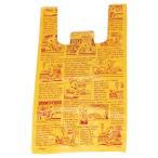 【まとめ買い10個セット品】アメリカンコミック レジ袋 18×35(23)×横マチ10 6000枚