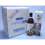 蜂蜜黒酢(壷仕込玄米黒酢使用)500ml×6本セット(鹿児島福山:宇都醸造)