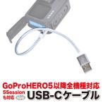 GoPro HERO6/HERO5/HERO5Session用アクセサリー USB-Cケーブル シルバー