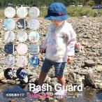 ショッピングプールバッグ 女の子 キッズ ラッシュガード 柄 子供 女の子 男の子 UPF50+ かわいい おしゃれ 水泳 プール 海 紫外線 カット 日焼け対策 UVカット ジップアップ 長袖