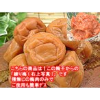 梅干し わけあり品をねり梅にして 練り梅(梅肉)200g入 福井県産特産品 梅干 訳あり品を使用 昔ながらの梅干し 塩漬けでしょっぱいねり梅